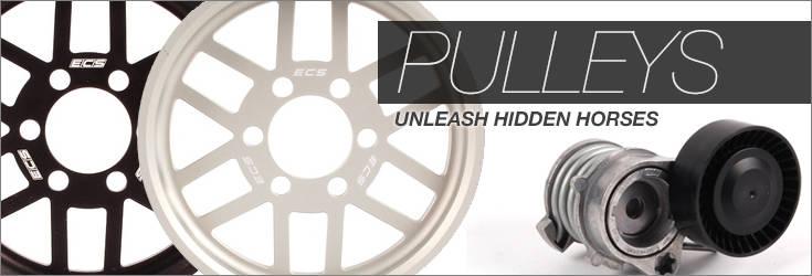 BMW pulleys