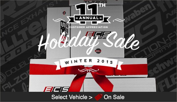 ECS Tuning Holiday Sale