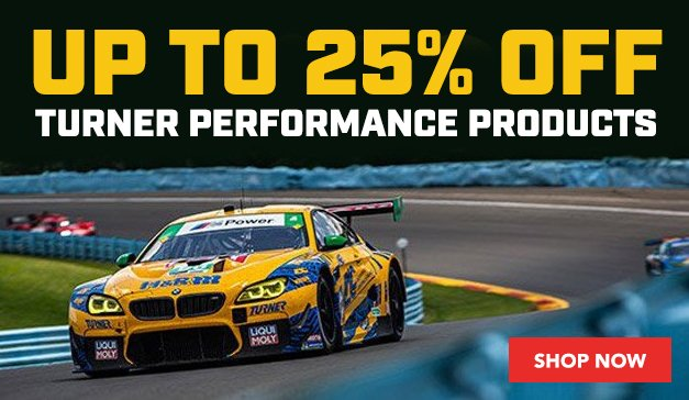 GENERIC - Up to 25% Off Turner Motorsport (on ECS)