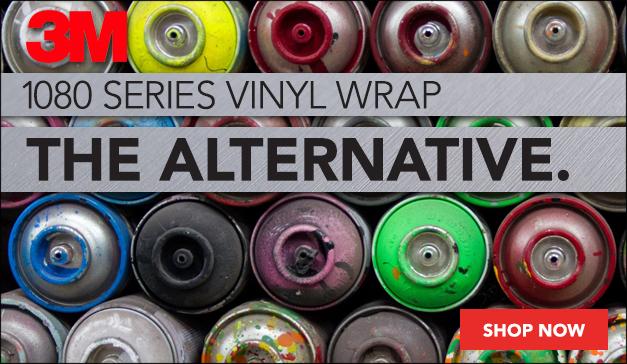 3M 1080 Series Vinyl Wrap Options