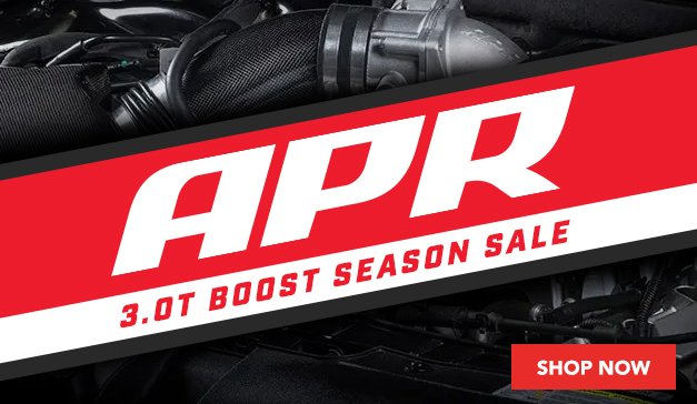 APR 3.0T Boost Season Sale