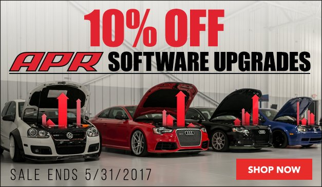 APR Software Upgrade Sale | Sale Ends 5/31/2017
