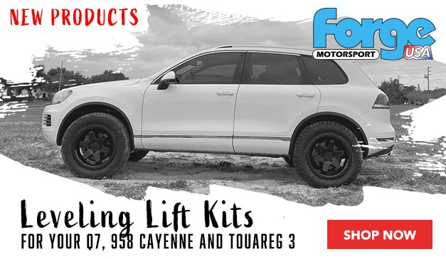New Forge Overland Touareg, Cayenne and Q7 Lift Kits