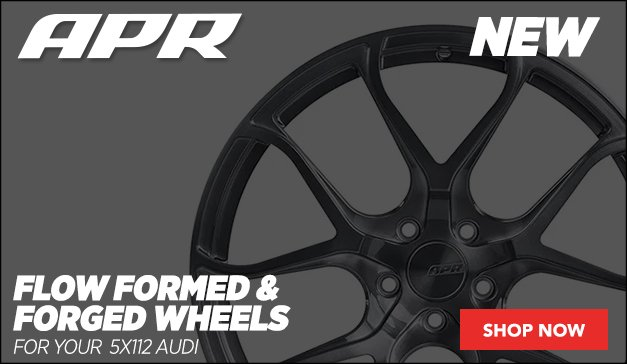 New Flow Formed and Forged Wheels from APR  - Audi