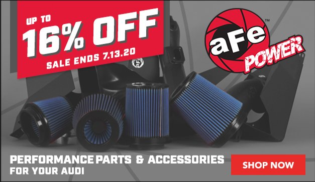 Audi - AFE Performance Parts and Accessories