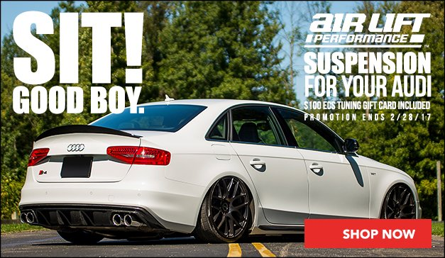 Air Lift Performance Suspension | Audi