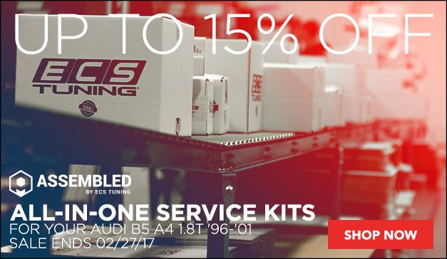 Save up to 15% on Assembled By ECS | Audi B5 A4
