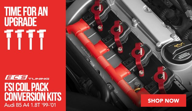 ECS FSI Coil Pack Conversion Kits - Audi B5 A4 1.8T