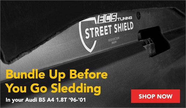 Audi B5 A4 1.8T - ECS Street Shield Skid Plate Kit