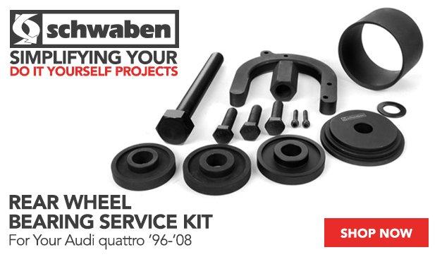 Audi B5/B6/B7 Schwaben Rear Wheel Bearing Service Kit
