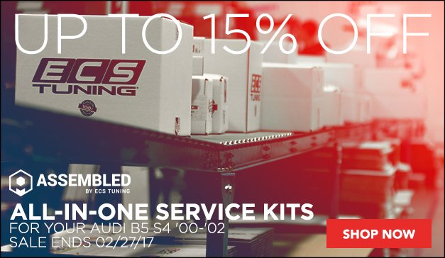 Save up to 15% on Assembled By ECS | Audi B5 S4