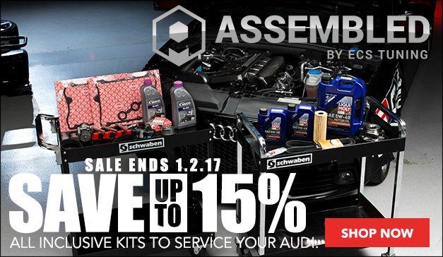 Audi B5 S4 Maintenance Kits | Assembled by ECS Sale