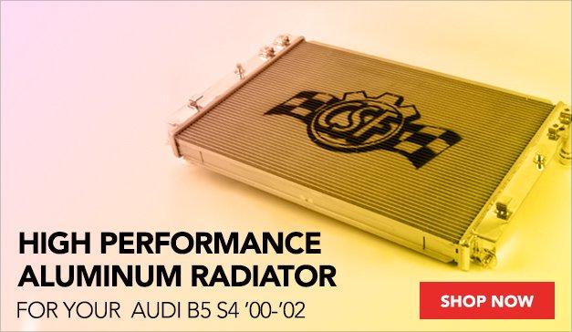 High Performance Aluminum Radiator for your Audi B5 S4