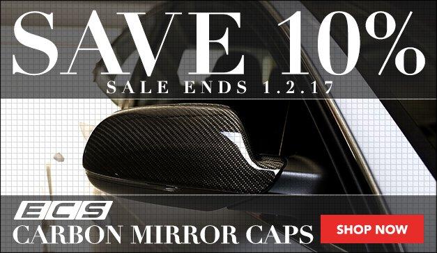 Audi B5 S4 ECS Carbon Mirror Caps