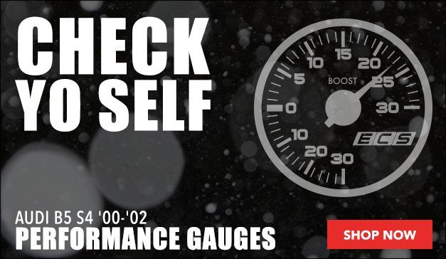 Performance Gauge Options | Audi B5 S4