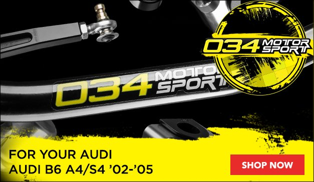 034Motorsport Performance Parts for your Audi