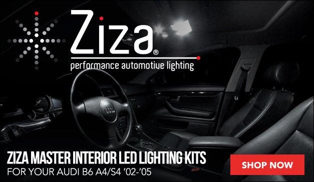 Audi B6 A4/S4 Ziza Interior Lighting