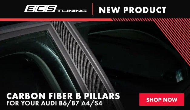 Audi - ECS Audi B6/B7 A4/S4 Carbon Fiber B Pillars
