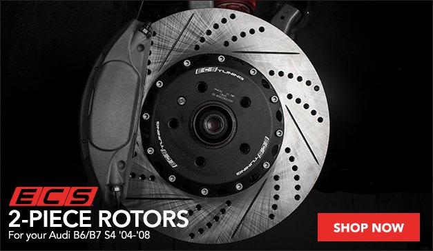 Audi B6/B7 S4 ECS 2-Piece Rotors
