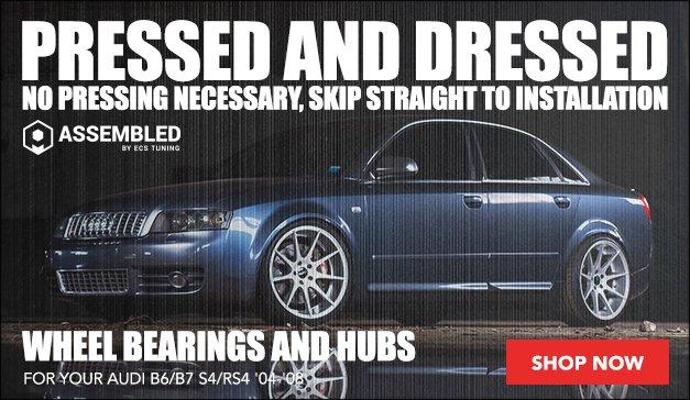 Pressed Wheel Bearing & Hub Kits   Audi B6/B7 S4/RS4
