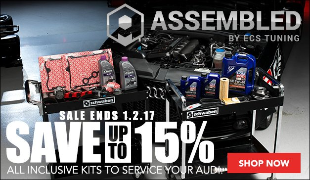 Audi B6 S4 Maintenance Kits   Assembled by ECS Sale