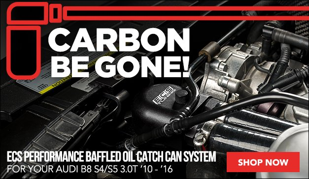 ECS Performance Baffled Oil Catch Can System