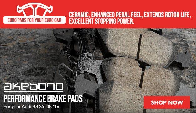 Akebono Brake Pads |Audi B8 S5
