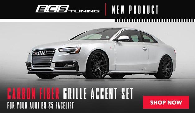 Audi - New ECS Facelift CF Grille B8 S5