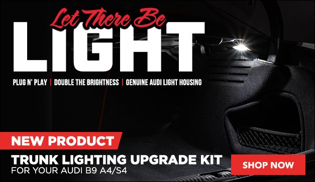 Audi B9 A4/S4 New Trunk Lighting Upgrade Kit