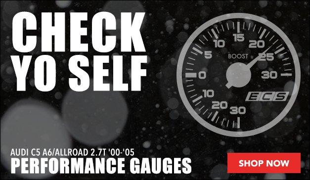 Performance Gauge Options | Audi C5 A6/allroad 2.7T