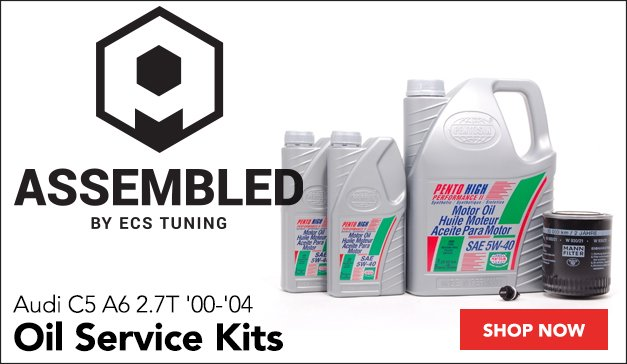 Assembled By ECS Oil Service Kits | Audi C5 A6 2.7T