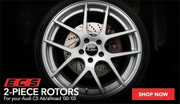 ECS 2-Piece Rotors for your Audi C5 A6/allroad
