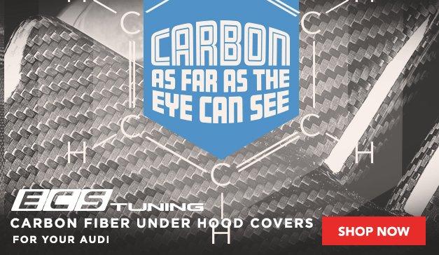 ECS Carbon Fiber Under Hood Covers