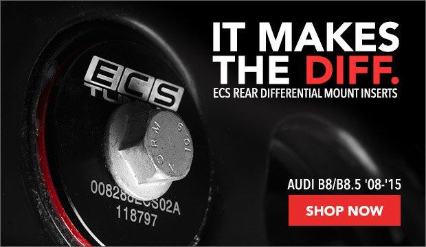 Audi B8/B8.5 ECS Rear Differential Mount Inserts