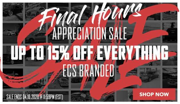 Audi - Up to 15% Off ECS Top Performance products and more