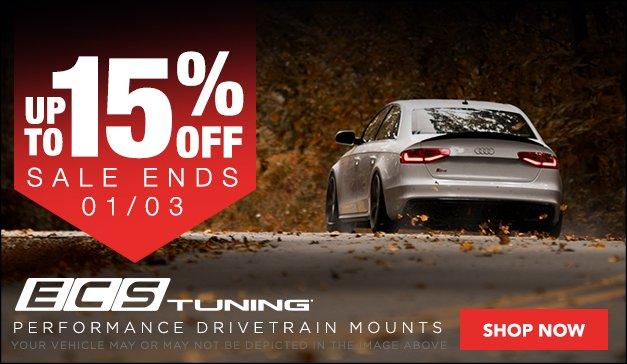 Up To 15% Off ECS Performance Drivetrain Mounts