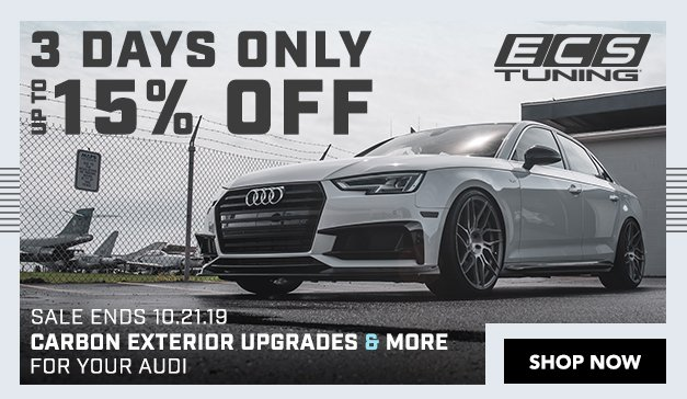 Audi - Up to 15% Off ECS Carbon Exterior Upgrades and More