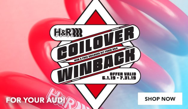 Audi - Win-Back Your Cash On H&R Coilovers