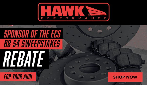 Audi - New Talon Rotors from Hawk Performance - Brake Better