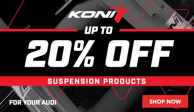 AUDI - KONI Suspension - Sale