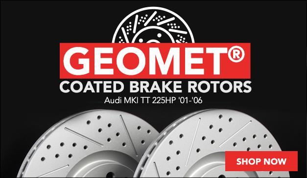 ECS GEOMETreg; Coated Brake Rotors Audi MKI TT 225HP
