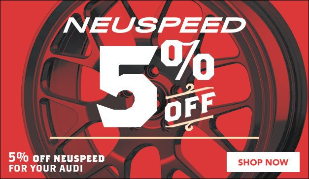 Neuspeed 5% off - general