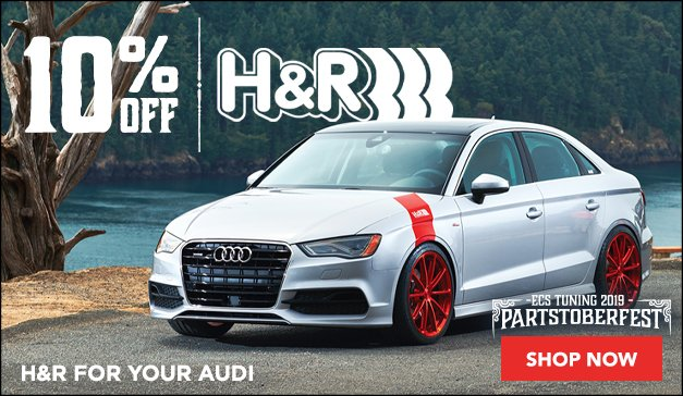 Audi - 10% Off The Entire H&R Line - For A Limited Time Only Sale Ends 9.23.19