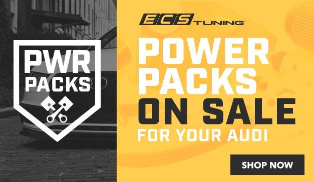 Audi - ECS Audi Power Packs Now Available