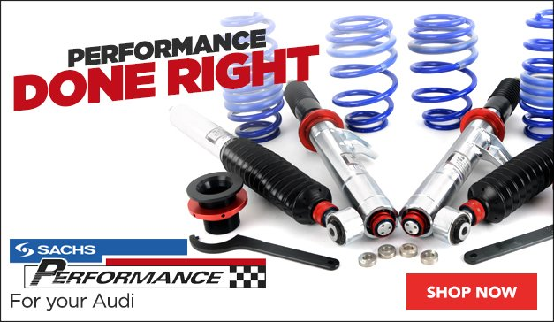 SACHS Performance for your Audi