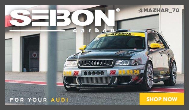 Audi - Seibon Carbon Fiber Upgrades