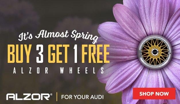Audi - Buy 3 Get 1 Free ALZOR