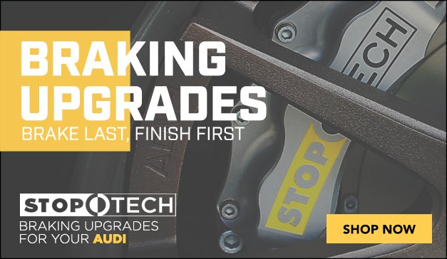 AUDI - Stoptech - Best Brake Upgrades