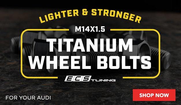Audi ECS Titanium Wheel Bolts