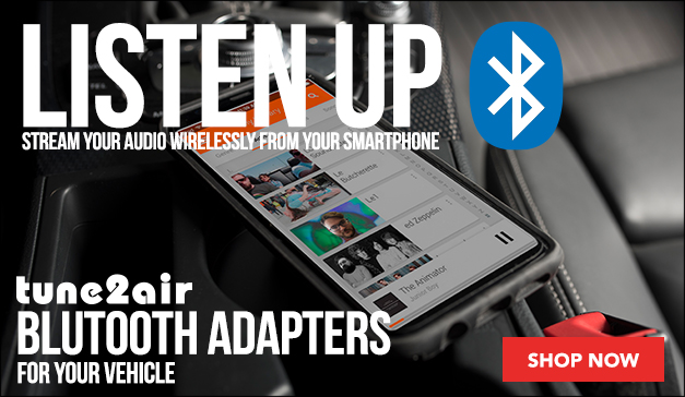 Tune2Air Plug-And-Play Bluetooth Adapter